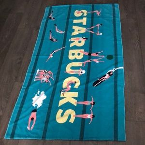 Starbucks Summer Beach Towel/Bag